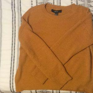 Mustard Pullover Sweater